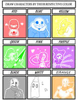 undertale Color Meme by NekuZ