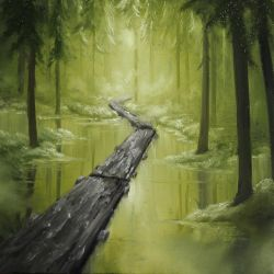 Forest Swamp by crazycolleeny