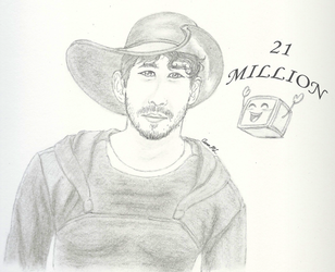 Mark and 21 Million Subs! by AaronML