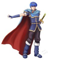 Marth by SumiDev