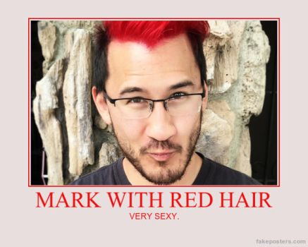MARK WITH RED HAIR by MalGirl101