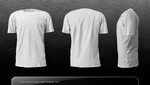 T-shirt template .xcf by Nerve-Gas