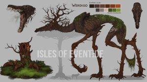 The Wendigo by Chickenbusiness