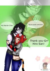 Thanks for always being a friend by Niqua10023