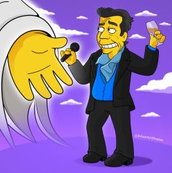 Juan Gabriel Simpsons by edwheeler