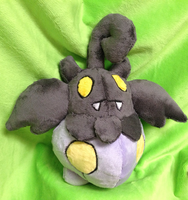Shiny Pumpkaboo Plush