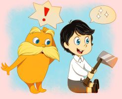 Lorax and Todd-ler by Gilzean