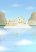 Castle on the Hill by bluestarproduction
