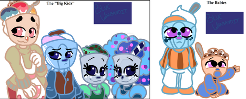Icecream Family - the Fosters by BlueWarbandit
