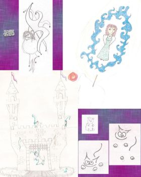 collage of old stuff 11 by tirsden