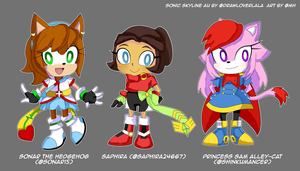 Sonic Skyline OCs edition by Masterhands-paper