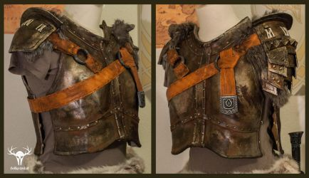 Skyrim Banded Iron Armor - final by Folkenstal