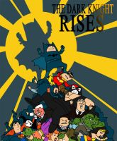 The Dark Knight rises by Chris-Yop-Lannes