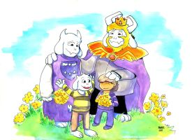 An Ending - Patreon reward (Undertale spoilers?) by bugbyte