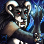 Khrul Portrait, 'Barbarian' by rootwork
