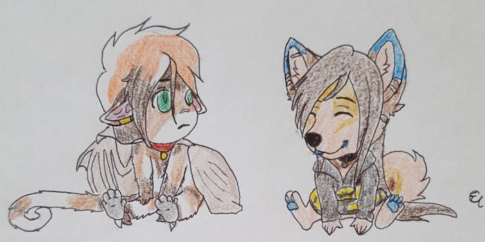 Enzo and Emi.:Trade:. by Toboe-chan92