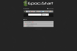 My personal web start page by Epoc22