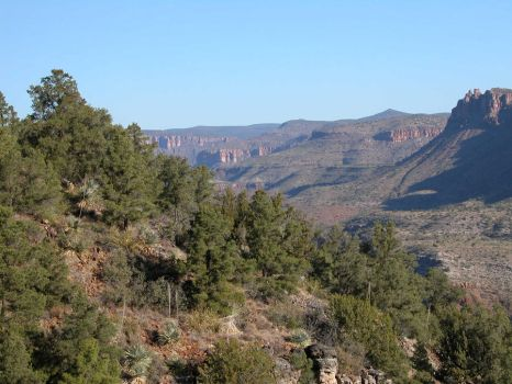 Salt River Canyon 2 by shadowcat9279