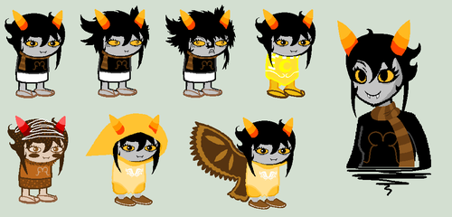 Strigi Sprites by SavannaEGoth