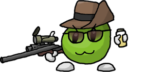 Game Pixel the TF2 Sniper by Mamamia64