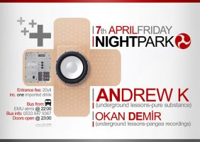 7th April NIGHT PARK by cajgat