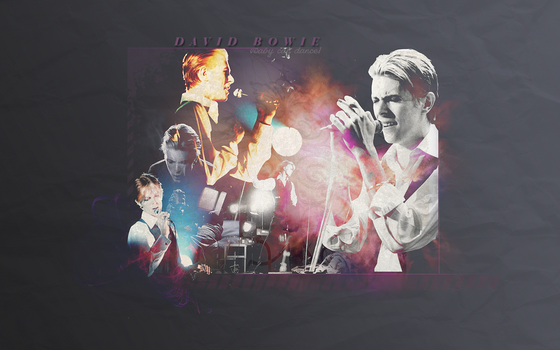 D_Bowie Wallpaper by Fustro