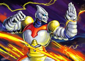 Jet Jaguar will OWN YOU by KaijuSamurai