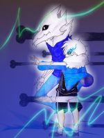 Art Trade: You're gonna have a bad time, kiddo by karinchan97