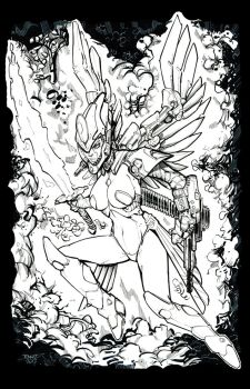 Coloring Contest - Mech Angel 17 by rantz