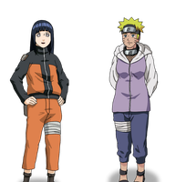 Request: Hinata-Naruto head swap by Insert-artistic-nick