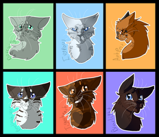 Warrior Cats Character Sheet 7 by WarriorCat3042
