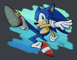 Ultimate Sonic by The-Quill-Warrior