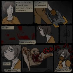 Dead Space Comic Derpness by castellanbetch