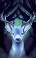 Deer [SPEEDPAINT AVAILABLE] by StuffedPolarFox