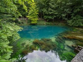 Der Blautopf by Merkosh