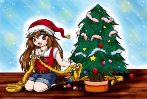 .:merry christmas:. by RikaChan3