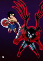 Justice League Action  Red lanter by nic011