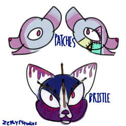 Premade designs- Patches and Bristle by Rosealmond