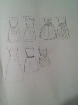 Brides Maid Dresses by babybee1