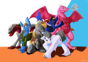Group Shot by Elicitie
