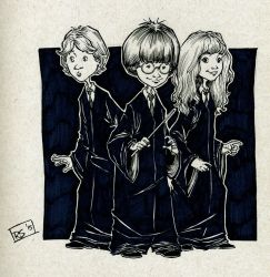 Harry Potter and Friends by RecsFX