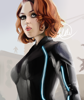 Black Widow by HalChroma