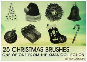 CHRISTMAS BRUSH COLLECTION by Special-K-001