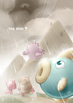 Walk Through the Rain by Torkirby
