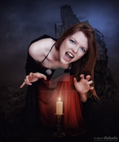 Bewitched By Evil by ValantisDigitalArt