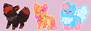 [CLOSED] Theme'd Cat Adopts by g1rk