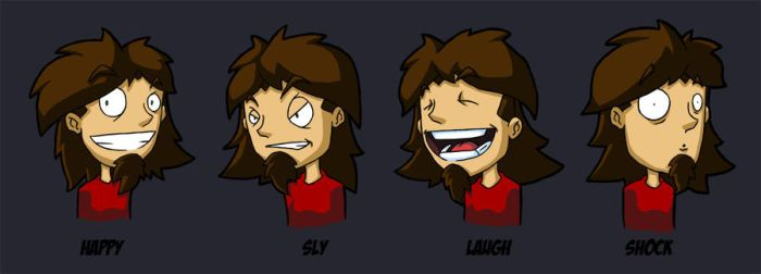Expression Sheet Colors by reticle2020