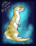Adoptable - golden weasel Closed by Anipurk