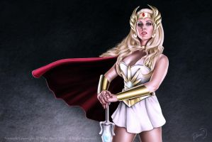 She Ra by MikePerryArt