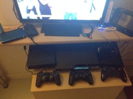 all my consoles by BrandyKoopa92